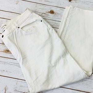 Ralph Lauren White Jeans 5 Pockets 20W